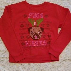 Pugs & kisses top